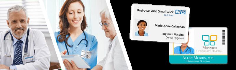 Badge per ospedali e centri medici