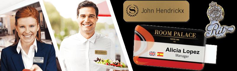 Badge per hotel e ristoranti