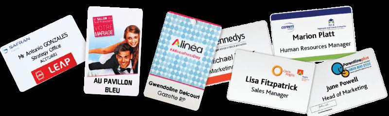 Tessere identificative e carte di accesso