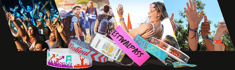 Braccialetti per festival e concerti