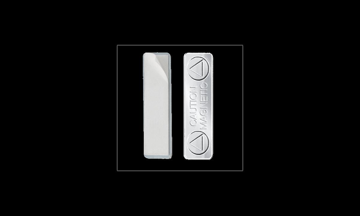 Attacco magnetico adesivo - rivestimento in metallo