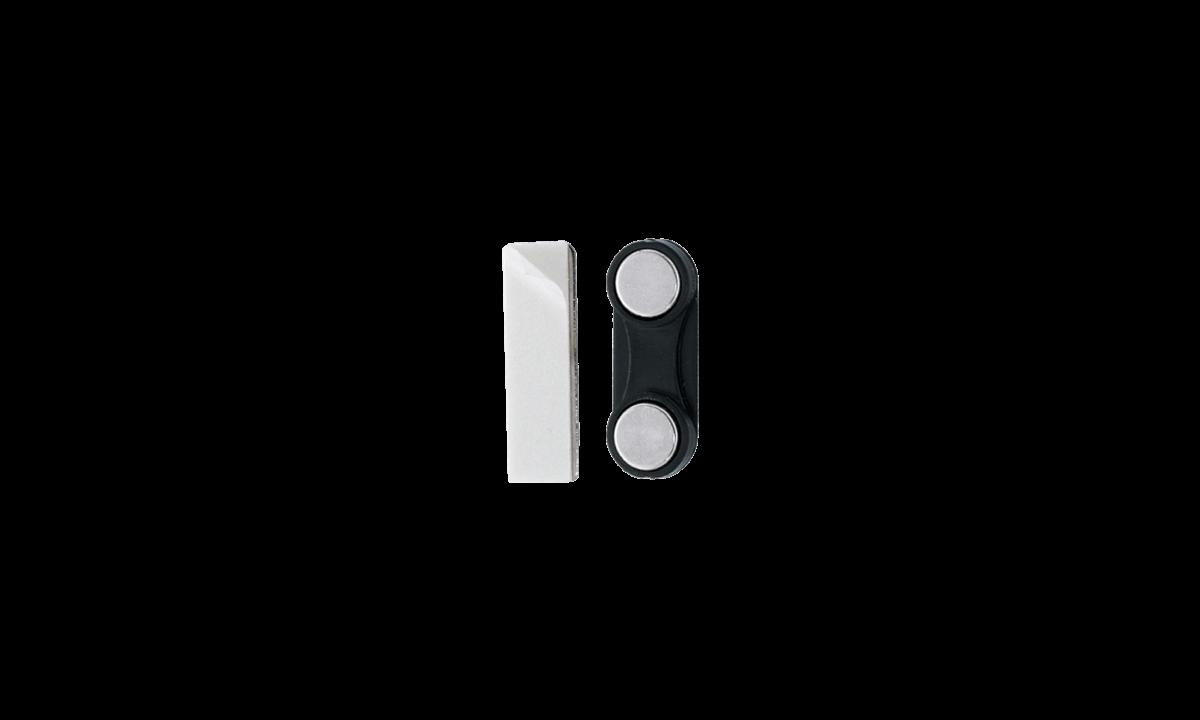 Attacco magnetico adesivo - rivestimento in plastica