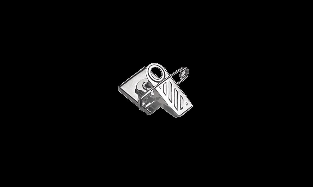 Fascetta a clip ruotante con nastro in schiuma