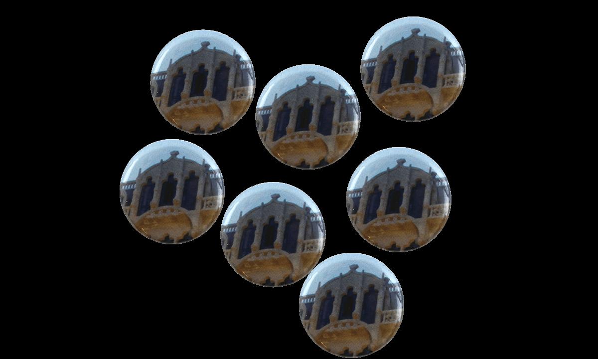 Badge a bottone 25mm, rotondo