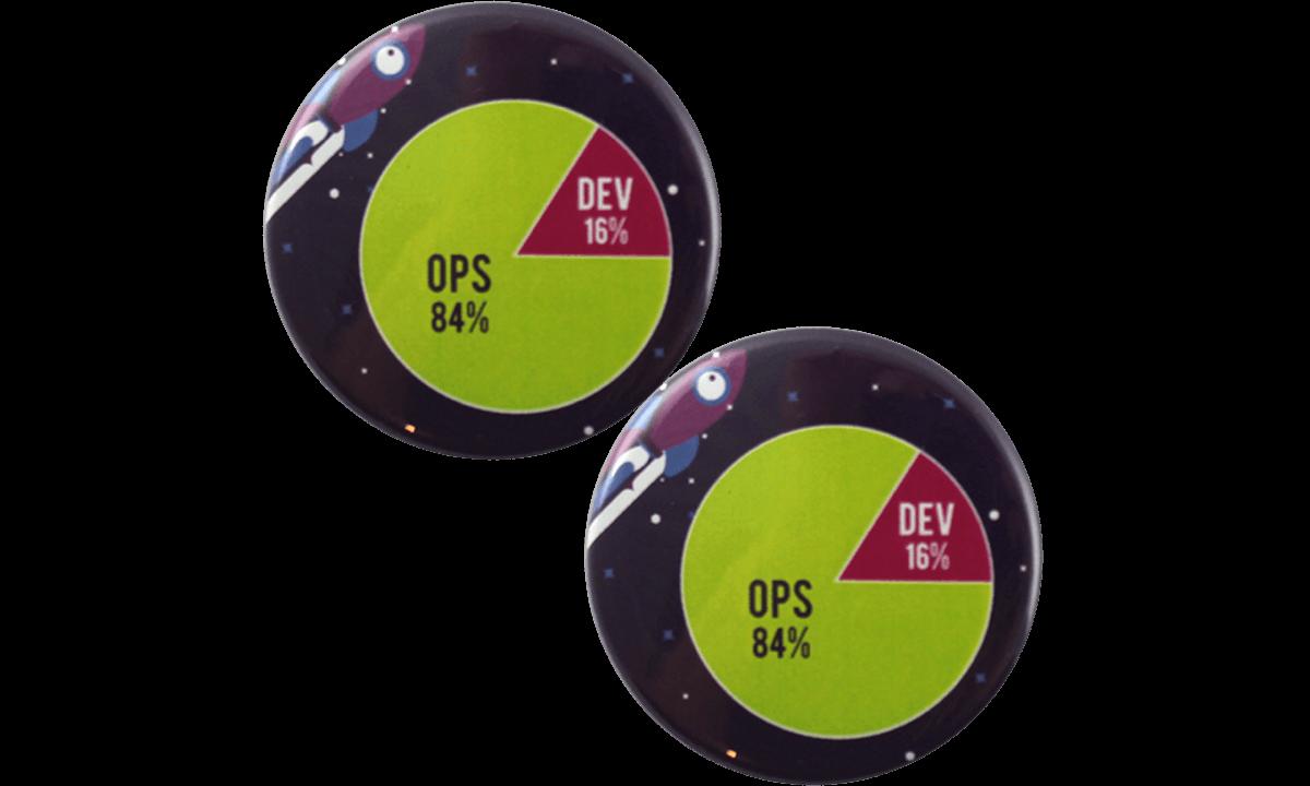 Badge a bottone 45mm, rotondo