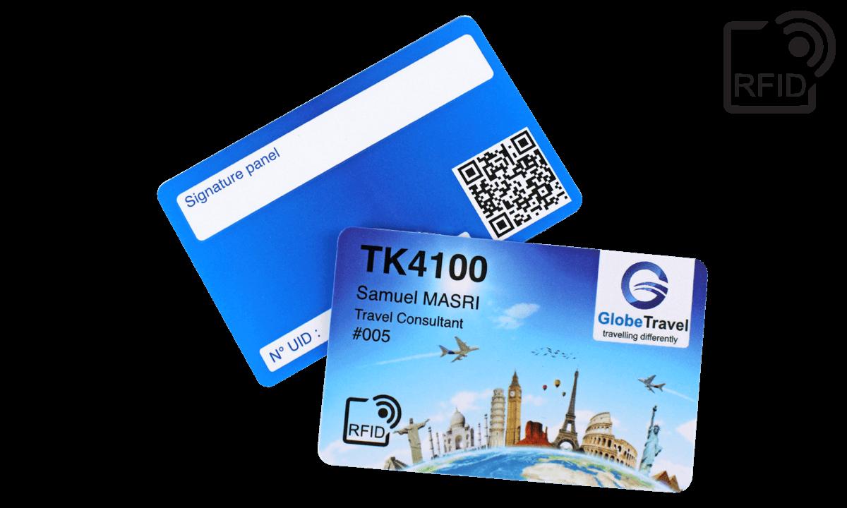 Carte RFID personalizzabili 86x54 mm - TK 4100
