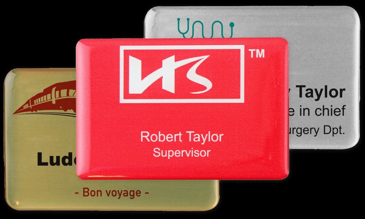 Targhetta portanome Impress premium, 75x50 mm