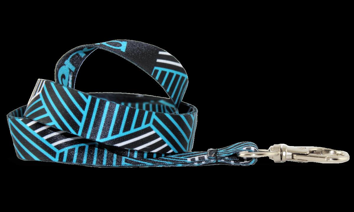 Laccetti porta-badge satin personalizzati di 15mm - Stampa in quadricomia