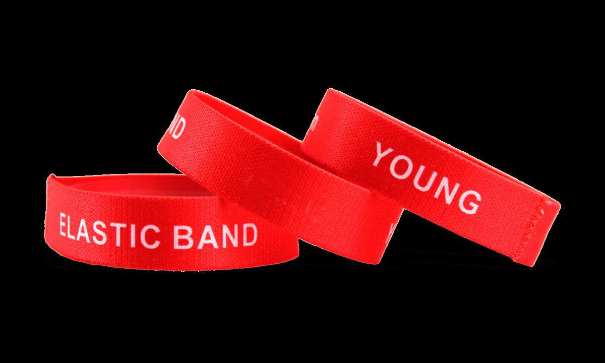 Tyvek wristbands 25 mm, White