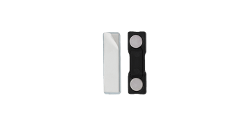 Attacco magnetico adesivo - rivestimento in plastica (2 calamite)
