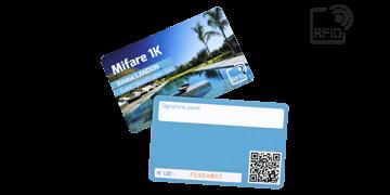 Carte RFID personalizzabili 86x54 mm - Mifare 1K