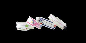 Braccialetti x bambini in plastica personalizzabili con stampa fotografica 19 mm