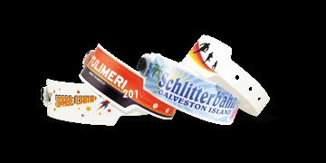 Braccialetti formato grande in plastica personalizzabili con stampa fotografica 25 mm
