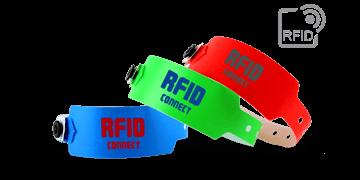 Braccialetti RFID in plastica PDC Smart® SuperBand