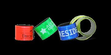 Braccialetti Rollband in plastica personalizzabili, 30 x 340 mm