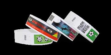 Braccialetti in Tyvek personalizzabili con stampa fotografica 25 mm